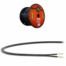 50 Feet Stinger Pro Series SPW516BK 16 Gauge AWG Black Speaker Wire Copper