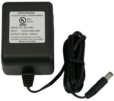 110-120 Volt AC to 18 Volt AC Output Class 2 Transformer Adapter Power Supply