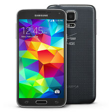 "Samsung Galaxy S5 SM-G900V 16GB Black Verizon & GSM ""Factory Unlocked"" 4G LTE"
