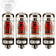 NEW! Groove Tubes Gold Series GT-6L6-S Matched Quad Vacuum Tube Set