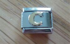 Italian Charms Charm - Gold Letters   Letter C