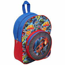 Blaze And The Monster Machines School Backpack With Front Pocket 3+ Years