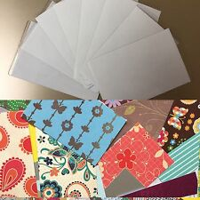 25 COOL CARDZ REFILL PACK-INSERTS/CARDS/SELF SEAL LAMINATE POUCHES-54x86mm