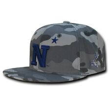NCAA USNA United States Naval Academy Camo Camouflage Snapback Baseball Caps Hat