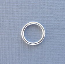 10 pcs Silver plated Closed Jump Ring Connector 12x1mm jewelry findings DIY k2
