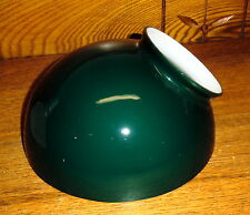 Old Round / Circular Green Glass Light Shade