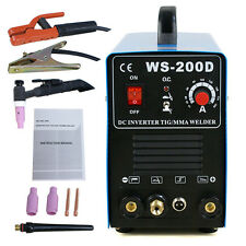 TIG DC Inverter ARC MMA Welder Welding Machine 110V&220V 200 Amp Single Phase