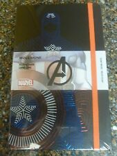 "Marvel Captain America Moleskin Notebook Limited  5 X 8.25"" Hardcover Sealed"