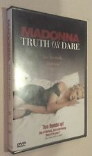 Madonna - Truth or Dare (DVD, 1997, French and Spanish Subtitles)