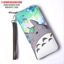 New 1Pcs Japanese anim6 unisex Synthetic leather Long Wallet Clutch Purse H078