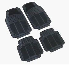 Opel Vauxhall Vectra Zafira Rubber PVC Car Mats Heavy Duty 4pc None Smell & Slip
