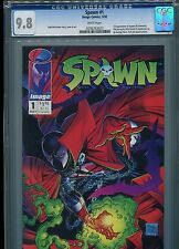 Spawn #1  (First appearance)  CGC 9.8  White Pages
