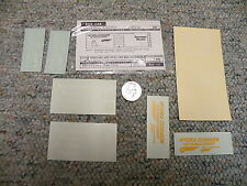 Walthers decals HO Box car 89-12 Southern Pacific white  J23