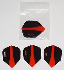 2 SETS OF HARROWS ORANGE RETINA DART FLIGHTS