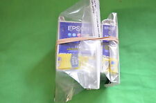 Pair Epson 1x T007 Black 1x T008 Colour Inks Stylus Photo  Genuine