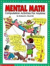 Mental Math (Grades 4-8)