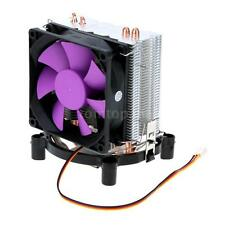 Ultra Silent Cooling Fan CPU Cooler Radiator 2 Heat Pipes for Intel LGA AMD N4A7