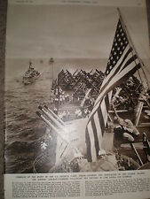 Photo article US Navy USS Phiippine Sea off Formosa Taiwan 1955 ref Z