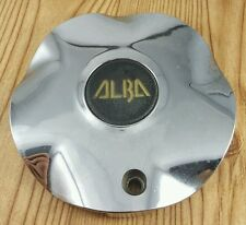 ALBA  CENTER CAP# ALBA CHROME  WHEELS  CENTER CAP