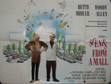 Woody Allen  Bette Midler SCENES FROM A MALL(1991)  Original movie poster