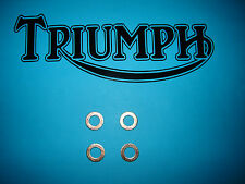 Triumph T120 T140 650 750 TR6 TR7 E V UK US Rocker Oil Feed Pipe Copper Washers