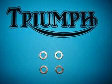 Triumph T120 T140 650 750 TR6 TR7 E V UK US Rocker Oil Feed Pipe Copper Washers