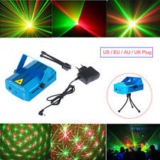 2016 Mini Projector DJ Disco Light Stage Laser LED R&G Party Xmas Lighting Show