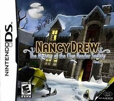 NANCY DREW : The Mystery of the Clue Bender Society DS