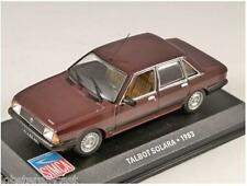 1983 SIMCA TALBOT SOLARA in Maroon 1/43 scale model ALTAYA