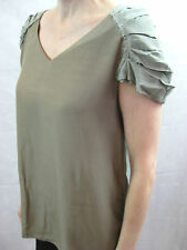 Marni Size 40 or 10 Khaki Green Chic Top