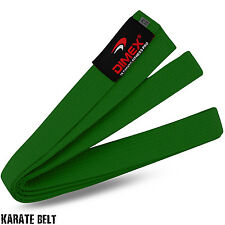 Karate / Judo / Taekwondo Plain Coloured Cotton Belt Martial Arts Dimex Sports