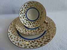Vieja sammeltasse sammelgedeck 3 piezas bavaria weissenstadt-d & R W porcelana