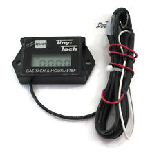 Tiny Tach 8' Cable Digital Hour Meter Tachometer Adjustable Resettable Job Timer