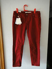 Pantalones Zara rojo sangre // Blood red Zara trousers - pants