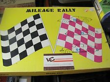Mileage Rally educational math game 1970s