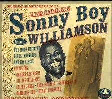 Sonny Boy Williamson-the original vol.1 4 CD NUOVO