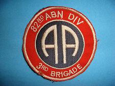 VIETNAM WAR RE PATCH, US 3rd BRIGADE 82nd AIRBORNE DIVISION