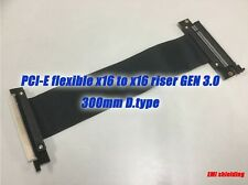 PCIE PCI-Express16x Extension Adapter Riser Cable,GEN.3,300mm D.type