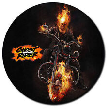 Parche imprimido, Iron on patch /Textil Sticker/ - Ghost Rider, fire, motor,moto
