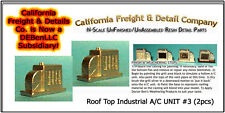 Roof Top Industrial A/C UNIT #3 (2pcs) N/Nn3/1:160-Scale California Freight & Co