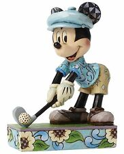Disney Traditions Hole In One Golf Mickey Mouse Figurine Ornament 15cm 4050392