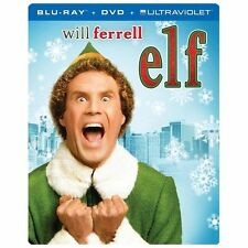 Elf (Blu-ray/DVD, 2013, 2-Disc Set, SteelBook)