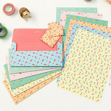 Cute Lovely Pattern Letter 6sets -24sh writing stationery paper 12sh envelope