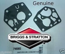 Briggs and Stratton Carburettor Diaphragm / Gasket 795083  495770 Genuine Part