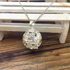 NEW Perfume Fragrance Essential Oil Aromatherapy Diffuser Locket Necklace #XX63