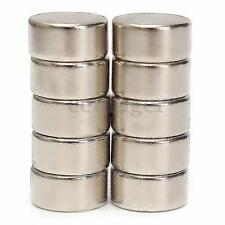 10Pcs 10 x 5mm Strong Round Cylinder Rare Earth Neodymium Magnets Magnet N52