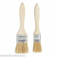 Kitchen Craft Set Of 2 Wide Pastry / Basting Brushes