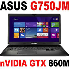 "16GB ASUS G750JM nVIDIA GTX 860M 17.3"" FHD i7-4710HQ LAPTOP G750JW G750 PC"