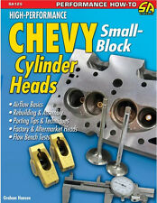 High-Performance Chevy Small-Block Cylinder Heads Book by Graham Hansen ~ NEW
