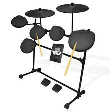 Pyle PED021M Digital Drum Set, Electronic Drum Machine System (7-Pad Drum Kit)